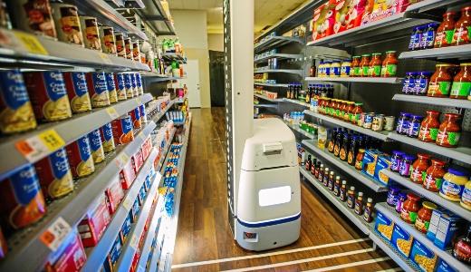 移动机器人做零售业库存管理,无人超市成为现实